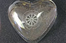 Rose window paperweight