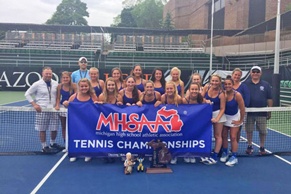 2016 MHSAA GIRLS DIVISION IV TENNIS CHAMPIONS