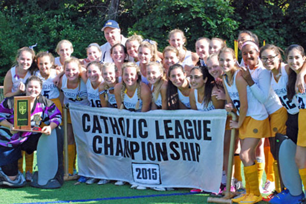 2015 CATHOLIC LEAGUE DIVISION I FIELD HOCKEY CHAMPIONS